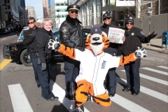 Sales Day Police with PAWS